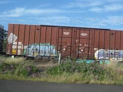 IMG_0373 (El Vid) Tags: graffitti boxcars train
