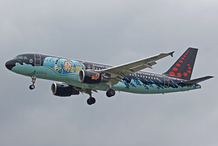 Brussels Airlines Airbus A320-214 OO-SNB