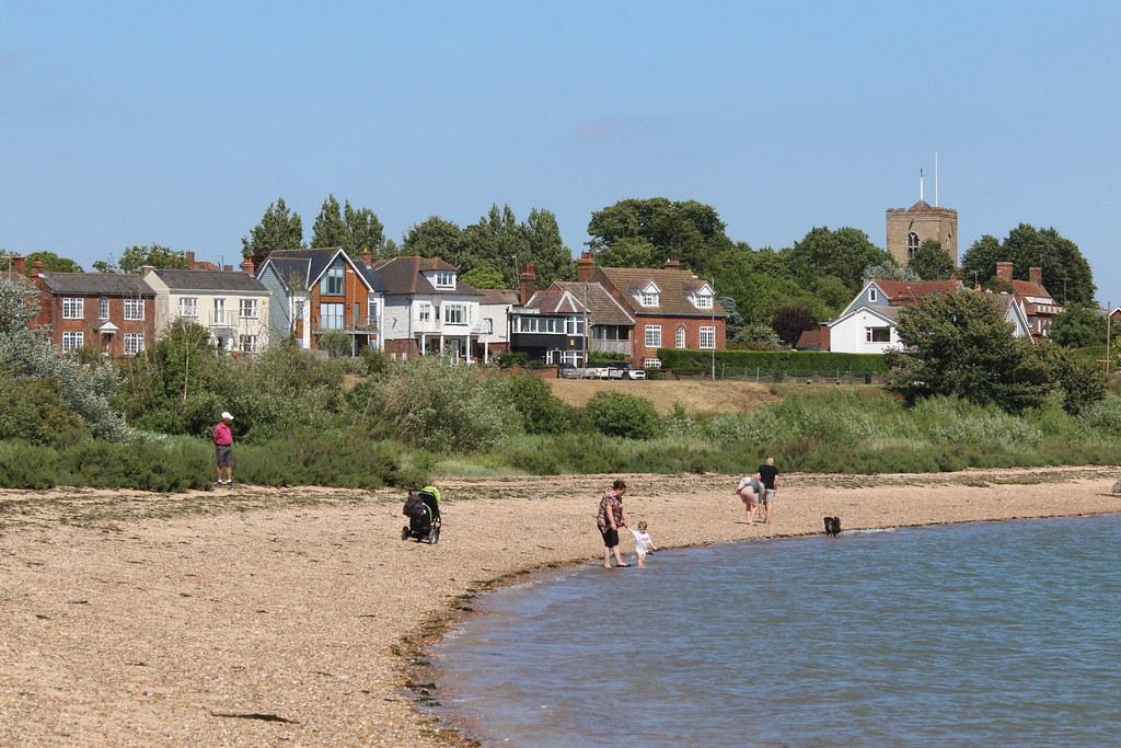 St Peters Well beach, Mersea