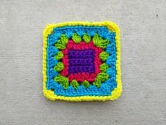 2018-06-21_08-47-16 (crochetbug13) Tags: crochet crocheted crocheting crochetsquare grannysquare usewhatyouhave repurposedcrochet