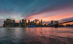 Brooklyn sunset park (JimiaS) Tags: brooklyn sunset park parc new york usa building tower tour skyscraper gratteciel 1424 d800 ngc view cityscape cloud water bridge pont nuage
