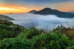 Pinggan Village Sunrise (©Helminadia Ranford) Tags: pinggan village kintamani bali bangli travel camping indonesia photography sunrise fog clouds mountain batur agung