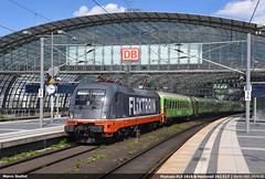 Ghost logos... (Marco Stellini) Tags: flitrain deutshland bahn zuge flix berlin germany taurus hectorail br242 hauptbahnhof siemens es64u2 br182