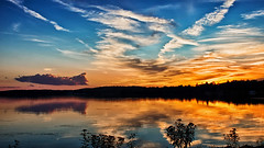 A Clouded Vision (Bob's Digital Eye) Tags: blue bobsdigitaleye canon canonefs1855mmf3556isll clouds flicker flickr june2018 laquintaessenza lake lakesunsets reflections silhouette sky sunset sunsetsoverwater t3i water serene dusk 👀