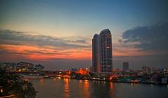 Bangkok (mokastet) Tags: mokastet bangkok thailand sunset river bangkokriver asia