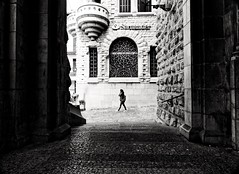next to the church (Streetphotograph.de) Tags: church mallorca gebäude architecture architektur building perspektive perspective leonegraph streetphotographer streetphotography candid unposed street germany deutschland city stadt monochrome bw blanco negro bn sw schwarz weis panasonicgx80 mft hannover