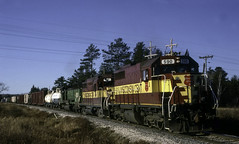 With This Rolling By I Had a Lot to be Thankful For (ac1756) Tags: wisconsincentral wcl wc emd sdl39 590 35 troutlake michigan