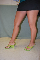 Thick and Thin (Jaylynn's Best Feeture) Tags: legs thongs toes ankles feet
