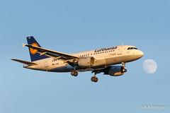 Airbus A319-100 D-AIBE Lufthansa 20180625 Heathrow (steam60163) Tags: heathrow heathrowairport airbusa319 lufthansa