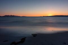 Sunset Camusdarach beach (iaincats123) Tags: morar white sand formatt hitech nd skye cullins lochaber west highlands isle rum