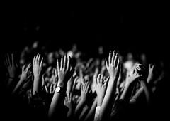 Concert hands (MortenTellefsen) Tags: concert hands hand monochrome bw blackandwhite bergen blackandwhiteonly vglista 2018 svarthvitt people norway norwegian