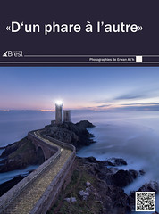 """Exposition """"D'un phare à l'autre"""" à Brest (Kambr zu) Tags: erwanach kambrzu lighthouse tourism ach sea phare ciel seascape landescape paysages paysagesmythiques bretagne leconquet"""