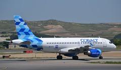 Cobalt Air Airbus A319-112 msn 2662 5B-DCU (djwilliams1990) Tags: madrid barajas adolfosuarez spain aviation aircraft