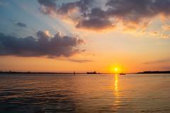 Warsash Sunset (hutchyp) Tags: sun set sunset dusk goldenhour warsash soujthamptonwater hampshire riverhamble sony a58 alpha