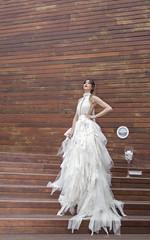 Sandra para Love Story Novias (kinojam) Tags: desfile desfilenovia novia bride wedding moda fashion beauty belleza shooting zaragoza kino kinojam canon canon6d