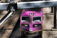 Loco in Motion (PAJ880) Tags: hsp 46 locomotive number 2004 commuter rail mbta mass bay transpofrtation authority cabot yards south boston ma