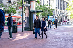 San Francisco 2018 (Explore) (burnt dirt) Tags: sanfrancisco california vacation town city street road sidewalk crossing streetcar cablecar tree building store restaurant people person girl woman man couple group lovers friends family holdinghands candid documentary streetphotography turnaround portrait fujifilm xt1 color laugh smile young old asian latina white european europe korean chinese thai dress skirt denim shorts boots heels leather tights leggings yogapants shorthair longhair cellphone glasses sunglasses blonde brunette redhead tattoo pretty beautiful selfie fashion japanese hands blue angry mad