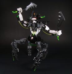 VanByter No. 207: Cezar (optimus-convoy) Tags: lego bionicle ccbs hero factory nexo knights vampire cyborg digital quadruped warrior biocup 2018 vanbyter