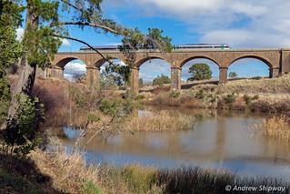 Malmsbury Viaduct, Malmsbury, Victoria.