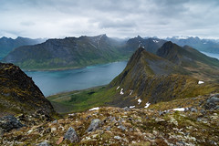 View from Husfjellet, Senja, Norway (Antti Peuna) Tags: norway senja landscape husfjellet hdr
