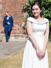 P1190241 (Andy Sut) Tags: wedding bride groom uk traditional england summer matrimony couple romance love british nottingham nottinghamshire lumix