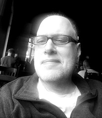 Day 2354: Day 164: @ Roy St. (knoopie) Tags: 2018 june iphone picturemail 1920 bw blackandwhite doug knoop knoopie me selfportrait 365days 365daysyear7 year7 365more day2354 day164