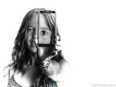 Sylfie (*Nenuco) Tags: jesúsmr jesusmr nenuco sylvia valencia blanco y negro azul blue eyes nikon d5300 selfie 18105 spain rollingstoniano