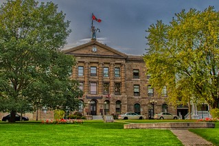 Brockville Ontario Canada - Brockville Court House - Heritage Building
