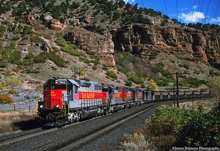 Intermountain Power Coal Train