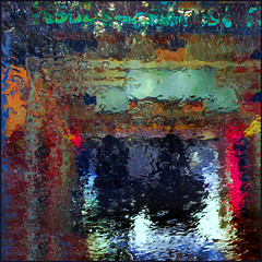 Car wash (Eva Haertel) Tags: eva haertel car wash auto waschanlage waschen wasser water nass wet diffus diffuse bunt colorful struktur structure abstrakt