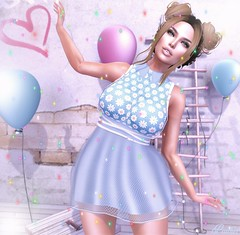Sweet Mia (Peaches Whimsy) Tags: mooh maitreya lamb letre catwa avatar virtual secondlife sl fashion elle backdropcity