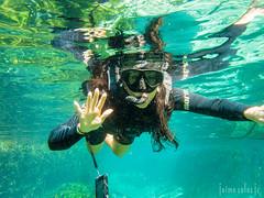 Rio Sucuri (Jaime Sales) Tags: riosucuri matogrossodosul bonito ms brasil brazil river aquática tg5 olympus mergulho snorkel água viagem verde girl byebye