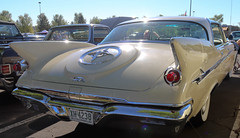 1961 Imperial 4 Door Hardtop (coconv) Tags: car cars vintage auto automobile vehicles vehicle autos photo photos photograph photographs automobiles antique picture pictures image images collectible old collectors classic blart 1961 imperial 4 door hardtop 61 mopar chrysler yellow fins
