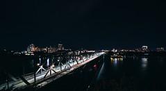 the bridge (_shawnp) Tags: quebec water bridge lights cityscape d7100 nikon canada longexposure ottawa