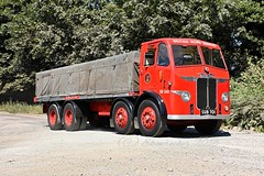 Gang of Four (ekawrecker) Tags: british road services lorry truck restored lincolnsfarm