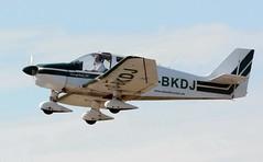 G-BKDJ (goweravig) Tags: gbkdj visiting aircraft swansea wales uk robin dauphin swanseaairport dauphin80