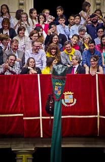 El HMP Torra s'estrena a la Patum / President Torra in La Patum