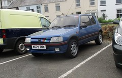 1995 Peugeot 205 1.1 (occama) Tags: n529twk peugeot 205 blue old car 11 cornwall uk french immaculate excellent 1995