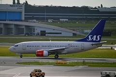 """Yngvar Viking"" SAS Scandinavian Airline System LN-RCW Boeing 737-683 cn/28308-333 wfu 27-11-2017 std at DGX 25-01-2018 for scrapping @ EHAM / AMS 12-09-2017 (Nabil Molinari Photography) Tags: yngvarviking sas scandinavian airline system lnrcw boeing 737683 cn28308333 wfu 27112017 std dgx 25012018 for scrapping eham ams 12092017"