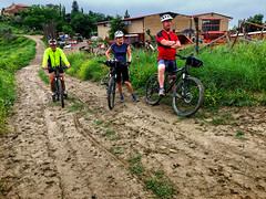 Dissent in the Ranks (Gee & Kay Webb) Tags: mtb mountainbike bike bicycle cycling outdoors riding mud tuscany italy trails