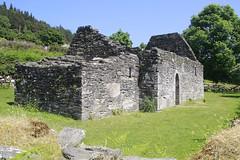 Trinity Church (Paul McNamara) Tags: glendalough wicklow ireland monastery monastic site church trinitychurch grass trees