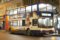 Stagecoach Manchester 17670 (V170 DFT) (SelmerOrSelnec) Tags: stagecoachmanchester dennis trident alexander v170dft manchester princessstreet night bus busways
