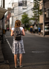 Discovering Kyoto (Andreas Mezger - Photography) Tags: travel holiday foreign country japan asia kyoto street streetphotography streetart backback nikon 85mm 14