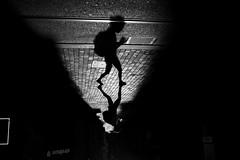 strellson (maekke) Tags: zürich woman shadow shadows shadowplay highcontrast negativespace streetphotography fujifilm x100t 35mm noiretblanc bw ch switzerland silhouette 2018