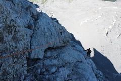La voie du Trou (fuchs.ludovic) Tags: escalade montagne aravis