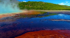 The Grand Prismatic Pool 1 (Chief Tendoy) Tags: yellowstonenationalpark midwaybasin geyser reflections colorful vivid landscape unitedstates wyoming