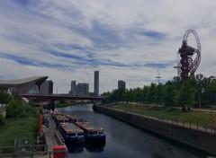 Hackney Wick Canal (foxfoxfoxfoxfoxfoxfox) Tags: hackney wick olympic park river canal boat london