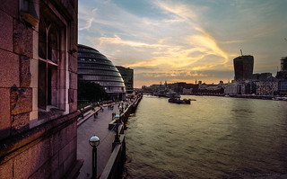 Thames Sunset
