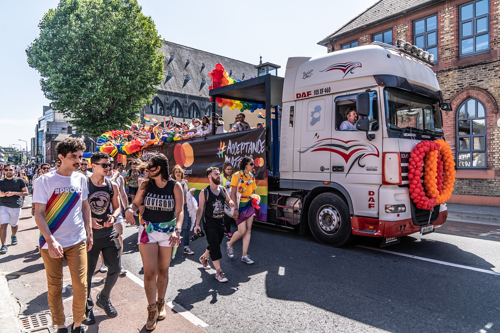 ABOUT SIXTY THOUSAND TOOK PART IN THE DUBLIN LGBTI+ PARADE TODAY[ SATURDAY 30 JUNE 2018] X-100221