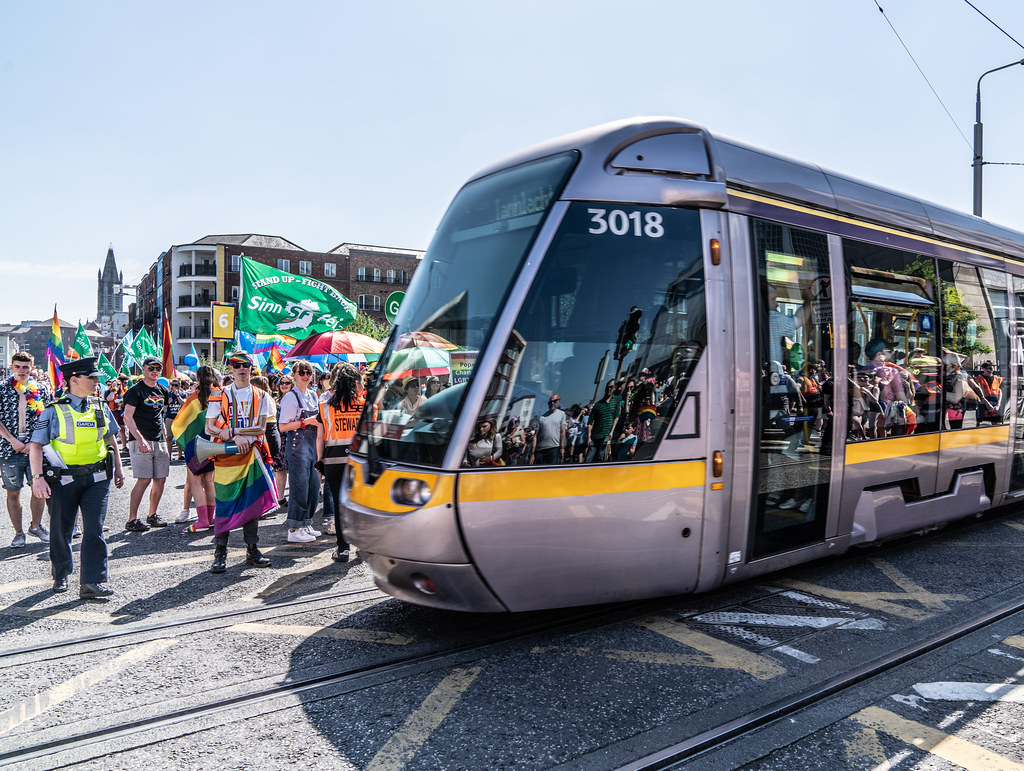 ABOUT SIXTY THOUSAND TOOK PART IN THE DUBLIN LGBTI+ PARADE TODAY[ SATURDAY 30 JUNE 2018] X-100075
